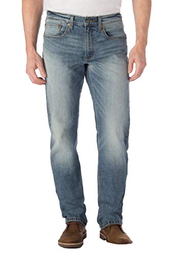 DENIZEN from Levi's Men's 285 Relaxed Fit Jeans - Tex - 32x34 (Denizen From Levis Mens 285 Relaxed Fit Jeans)