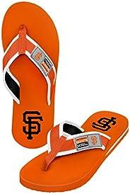 FOCO MLB San Francisco Giants Locker Label Flip Flop
