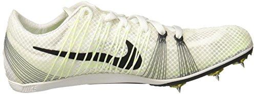 Nike Zoom Seger 2 Unisex- Spikskor Vit / Volt / Svart