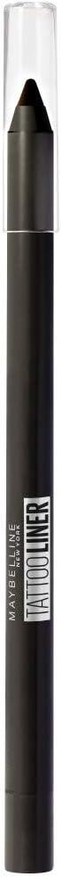 Maybelline Tattoo Liner 900 Deep Onyx - Lápiz de Ojos Semi-permanente, Negro, 1.3 gr