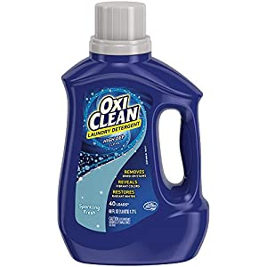 Best Epic Trends 41sMkO9YWnL._SS300_ OxiClean High Def Sparkling Fresh Liquid Laundry Detergent, 60 oz.