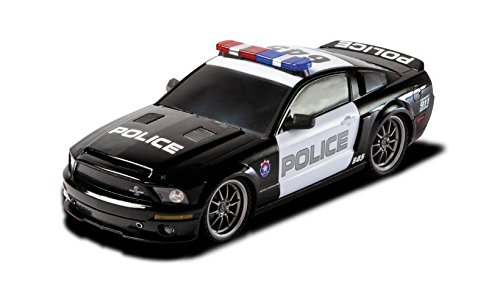 Ford Shelby GT500 Super Snake 1/18 Radio Control Police Car w/ Light (Rc Car Working Lights compare prices)