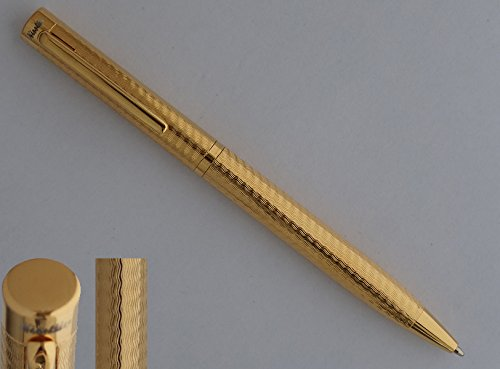 Nisstiiv Dunes Gold Ballpoint Pen 999 Sterling (Dunhill Pen Refills)