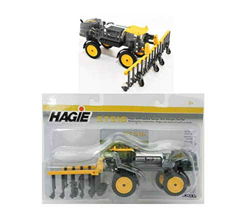 2019 1:64 HAGlE STS16 Self-Propelled Sprayer w/NITROGEN Tool BAR NIP Rare Collect Diecast Vehicle Toy ()