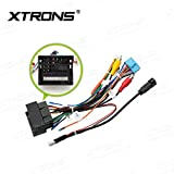 XTRONS ISO Wiring Harness for VW Golf for Skoda Car Stereo DVD Player Android Head Unit