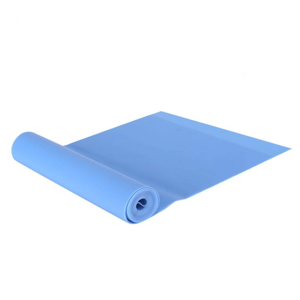 SEGRJ Hohe Elastische Yoga-Festigkeit Zugwiderstand TPE-Gurt, Heim-Fitness, Stretching, Spannungs Gerät Band-5 Farben ist verfügbar