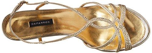 Caparros Donna Pandora Oro Metallizzato Sandalo Oro Metallizzato