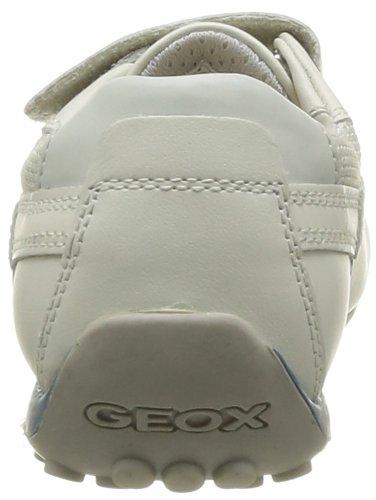 Geox J Snake Moc B - 0 Niños Blanco (Blanc (White/Avio))