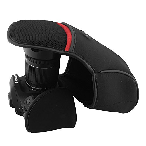 ARCHE Neoprene Protection Camera Case, Universal Size, Accessory Stroage, DSLR/SLR Camera for Canon 450D, 500D, 550D, 600D, 650D, 700D, 1000D with 18-55mm Lens (Small Size / L60 x D100 x H160)