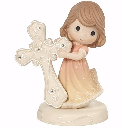 Precious Moments 172013 May Faith Guide You Girl With Cross - Pearl Mall In Outlet