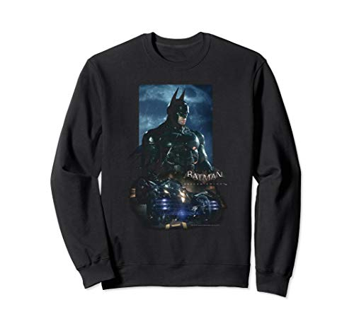 Batman: Arkham Knight Batmobile Sweatshirt (Batman Arkham Knight Action Figures Release Date)