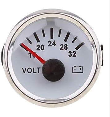 ELING Water Temp Gauge Meter 40-120℃ 52mm 12V//24V with Backlight