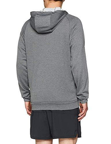 Heather Nike Gris Fleece Homme charcoal Zip Full Dry Capuche black Veste zqSzBPw