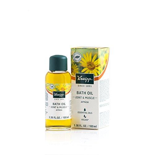 Kneipp Arnica Herbal Bath Oil for Joint & Muscles, Bath Soak, 3.38 fl. oz.
