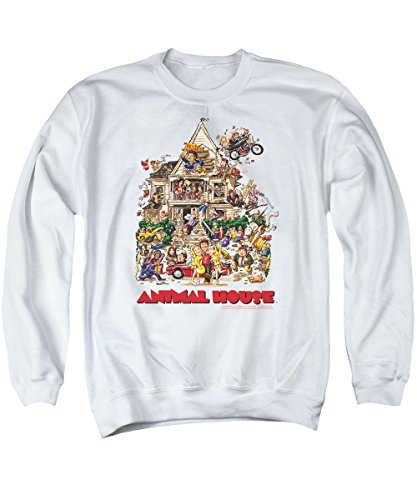 Animal House Classic College Comedy Movie Poster Art Adult Crewneck Sweatshirt