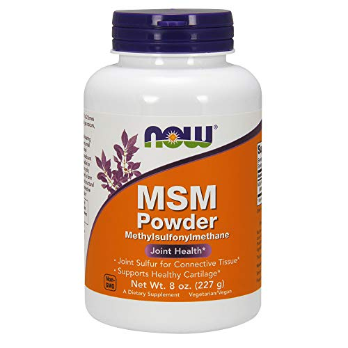 Now MSM Powder 8-Ounce