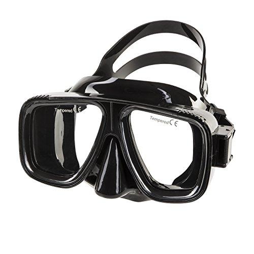 IST Saturn Scuba Dive mask -Black Silicone