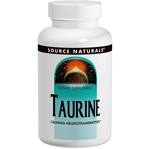 Source Naturals – Taurine 500mg, 120 tablets
