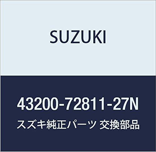 SUZUKI (スズキ) 純正部品 ホイールセット アルミ(15X41/2J)(シルバー) その他 品番43200-72811-27N B01LZL4F4L