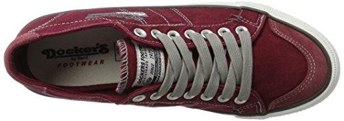 Dockers Rot 30st027 Gerli 700 para Hombre by 790700 Rojo Zapatillas rg8rq