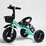 COOL-Series Kids Trike Toddlers Children Tricycle Stroller Trike 3 Wheel Pedal Bike Multicolor for 2 3 4 5 6 Years Old Boys Girls Indoor & Outdoor with Storage Bin and Cup Holder (Blue)