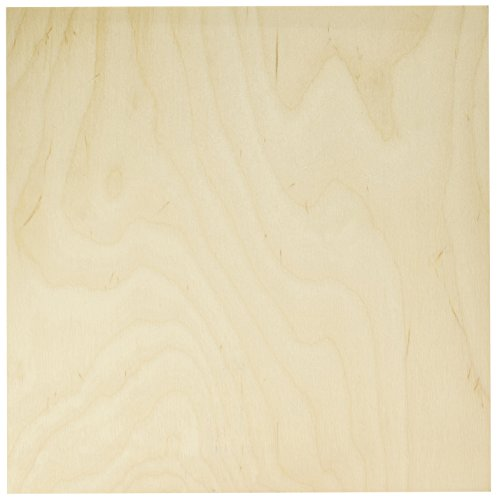 Midwest Products 5335 Birch Plywood, 1/2 x 12 x 12-Inch by Midwest Products Co.