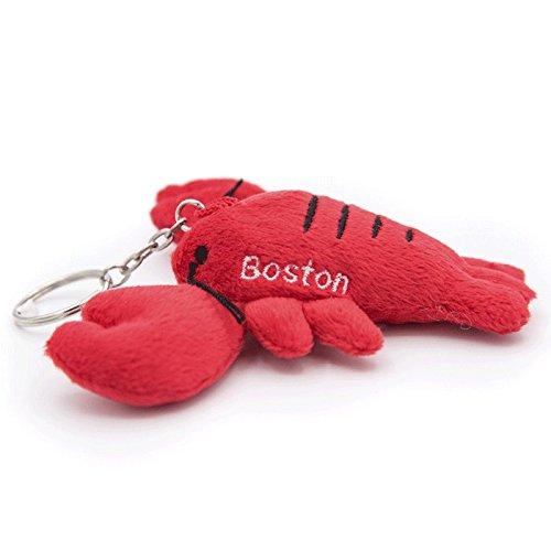 Plush Lobster Key Chain Boston