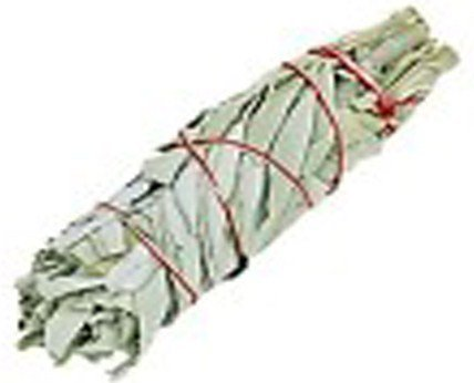 Large 8 California White Sage Ceremonial Smudging Stick - Native American Cleansing Herb - Smudge to Cear Negative Energy - Free Postage! by Mystery Mountain by Mystery Mountain