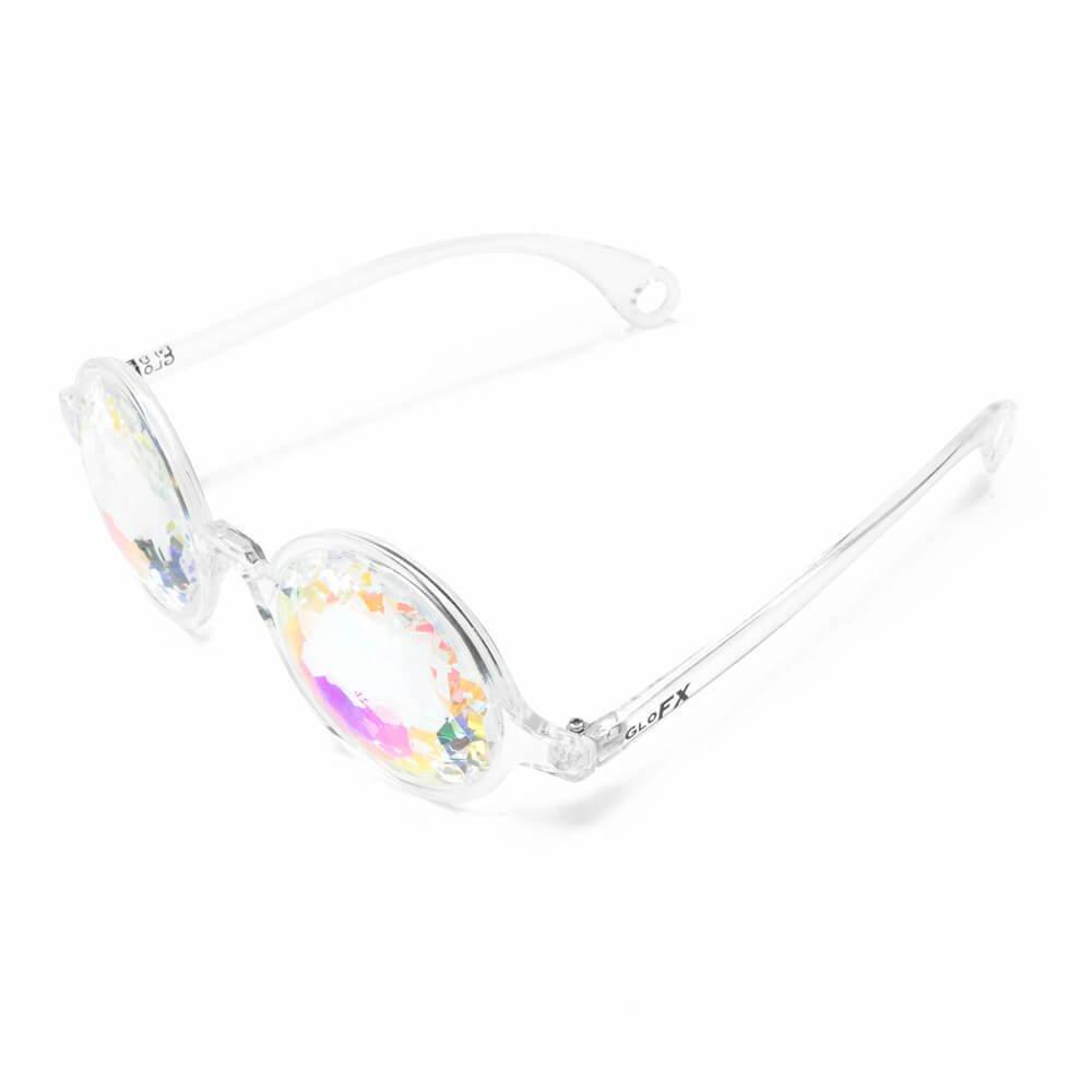 GloFX Verres kaléidoscopiques transparents pour femmes Taille unique Clair iCvoVdW