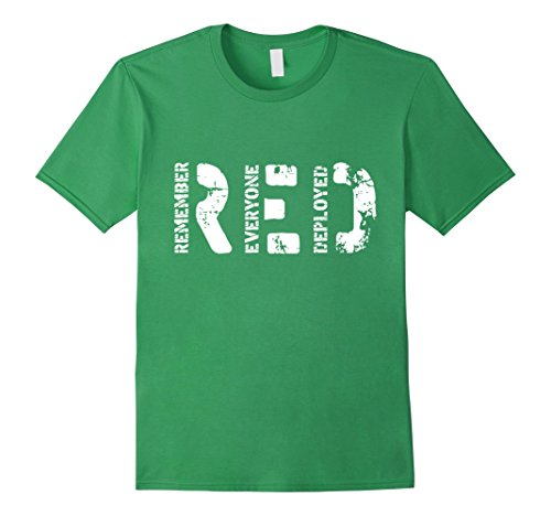 Mens Wear Your Red And Support Our Troop T-Shirt Medium G...