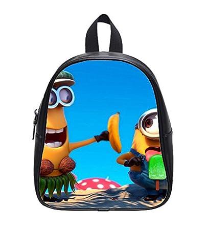 a3a2f4b3ccaa Amazon.com   New Promotion Minions Custom Kids School Backpack Bag (Small)  Decent   Baby