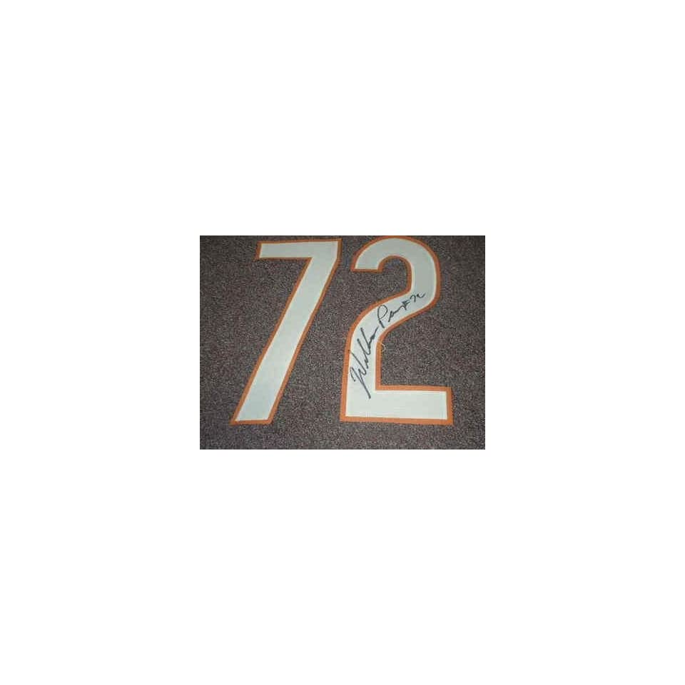 WILLIAM FRIDGE PERRY Signed JERSEY NUMBER # 72 Set Chicago Bears Football Auto   Autographed NFL Jerseys