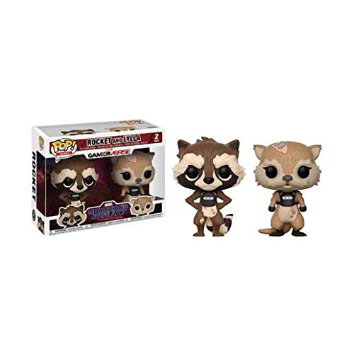 GOTG Tell Tales Rocket Raccoon and Lylla Pop! Vinyl 2-Pack