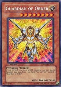 Yu-Gi-Oh! - Guardian of Order (LODT-EN000) - Light of Destruction - 1st Edition - Secret Rare