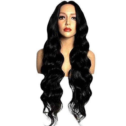 Long Wavy Wig Synthetic Wig Cosplay Wig for Women Heat Resistance Fiber -