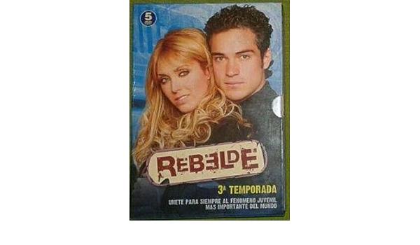 Pack Rebelde (A3) (3ª temporada) [DVD]: Amazon.es: Rodrigo ...