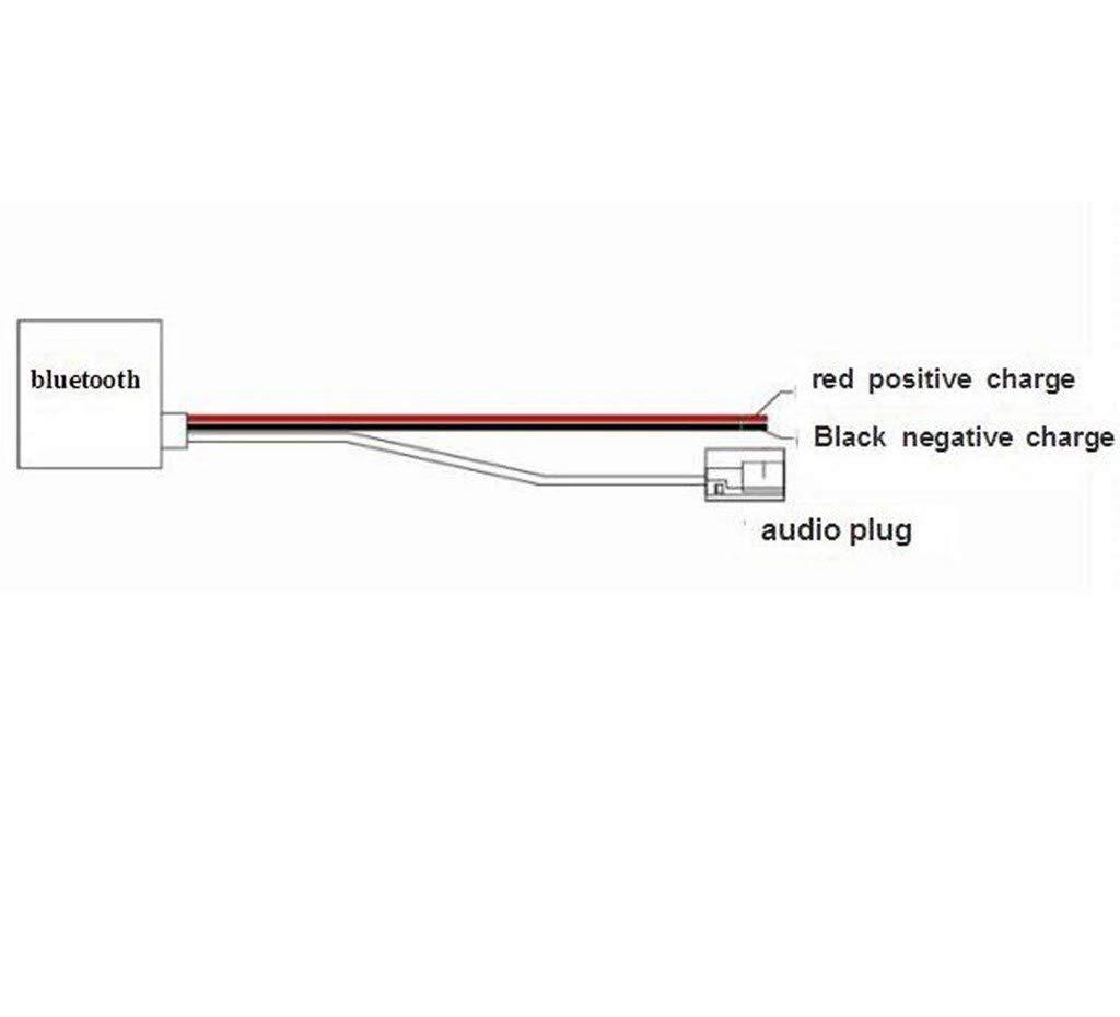 Adaptador Bluetooth para coche Alpine KCE-236B CDE-9885 CDE-9887 interfaz de m/úsica Est/éreo inal/ámbrico AUX para auto Alpine OEM radio CDA-9852 9856 9857 9870 9871 9883
