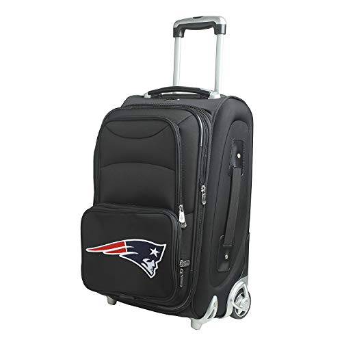 Denco NFL New England Patriots 21-inch Carry-On Luggage