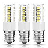TGMold E17 LED Bulb Light, 40W Equivalent Non-Dimmable, 400LM 6000K Cool White Ceramics light, for Indoor Household Lighting, Bedroom Light, Bathroom Kitchen Lighting, Ceiling Fan Bulb, 3 Pack
