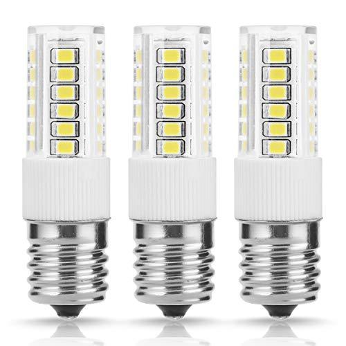 TGMold E17 LED Bulb Light, 40W Equivalent Non-Dimmable, 400LM 6000K Cool White Ceramics light, for Indoor Household Lighting, Bedroom Light, Bathroom Kitchen Lighting, Ceiling Fan Bulb, 3 Pack by TGMOLD