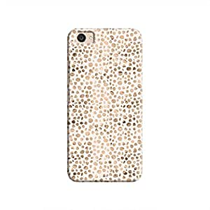 Cover It Up - Brown White Pebbles Mosaic V5 Plus Hard Case