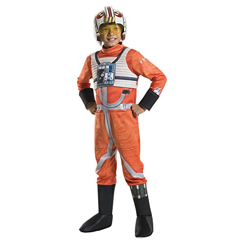Boys Star Wars Poe X Wing Fighter Costume with Mask Small 4-6 ()