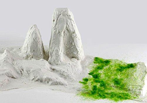 【Good in three directions】산을 만들자! 다이치를 만들자! 도 #도 # 대삼림 디오라마 작성 석고포 C《나리》― plaster 크로스 2개 세트