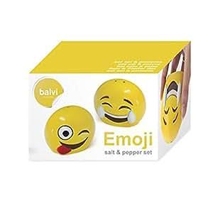 Salt & Pepper set, Emoji Shape - Balvi