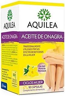 AQUILEA Aceite de onagra 90 cápsulas: Amazon.es: Salud y cuidado personal