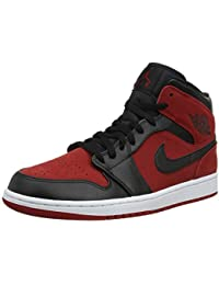 wholesale dealer e7e00 3773e Jordan Men s Air Retro 1 Basketball Shoe, Gym Red Black-White (610 · NIKE