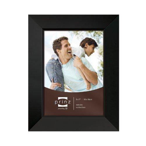 Prinz 5-Inch by 7-Inch Dakota Black Wood Frame