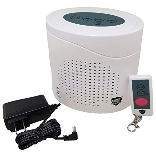 CUTTING EDGE PRODUCTS INC Virtual K9 Alarm - Vicious Barking Sounds - Scare Off intruders Up to 120 ()