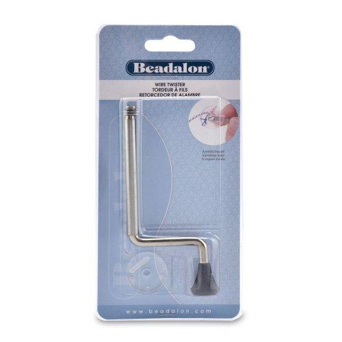 Beadalon 5 Hole Wire Twister, 2-Piece