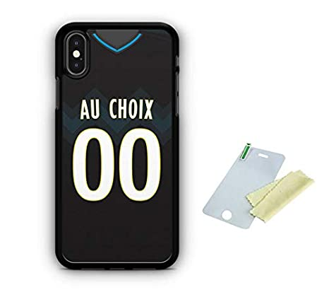 coque iphone x football personnalisable